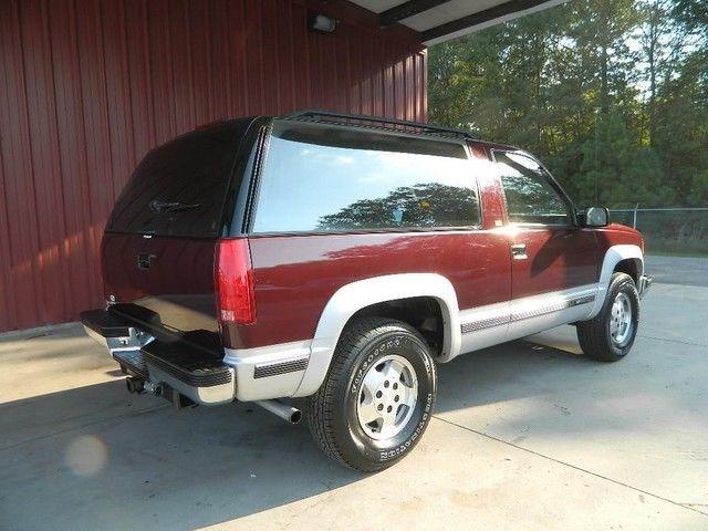 Two Door Tahoe For Sale >> Full Size Blazer 2 Door Tahoe 1 Owner Very Clean New Tires Call 704-965-6546