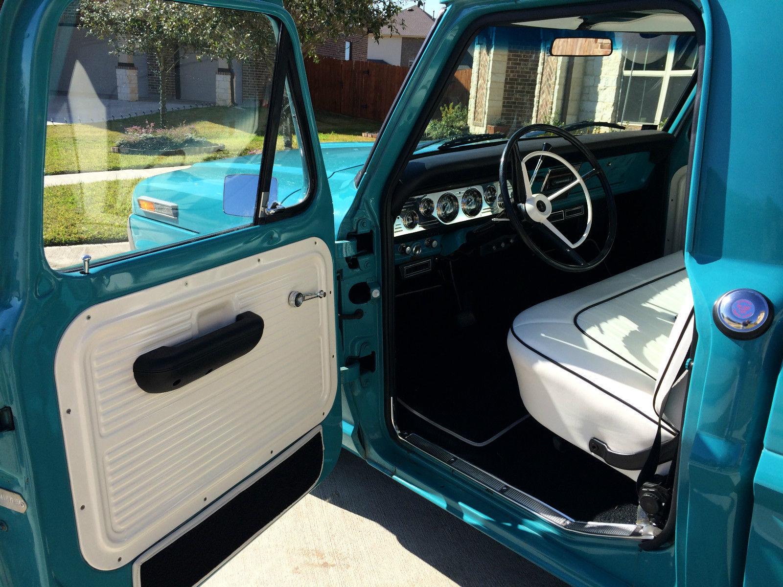 Gas Monkey Garage Built Ford F100 Short Bed Truck 1955 Headliner