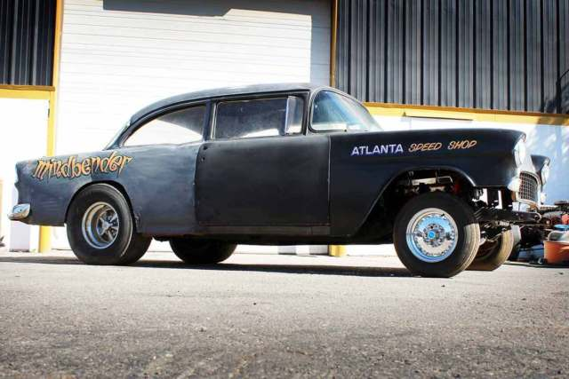 gasser for sale 1955 chevy nhra real barn find drag car hot rod race car racing. Black Bedroom Furniture Sets. Home Design Ideas