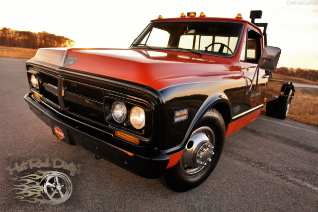 gmc c30 tow truck car hauler wedge ramp truck pickup c10 3100 hot rat street rod. Black Bedroom Furniture Sets. Home Design Ideas