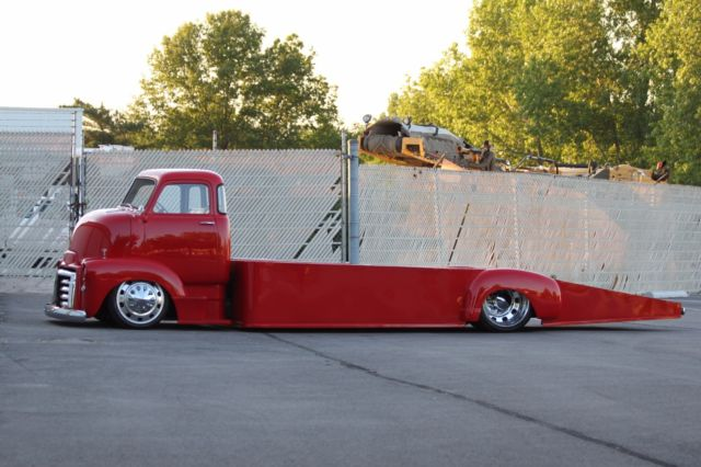 Coe Car Hauler For Sale >> GMC COE Hauler Cab Over Air Ride Semi wheels wrecker tow truck wedge ramp tow