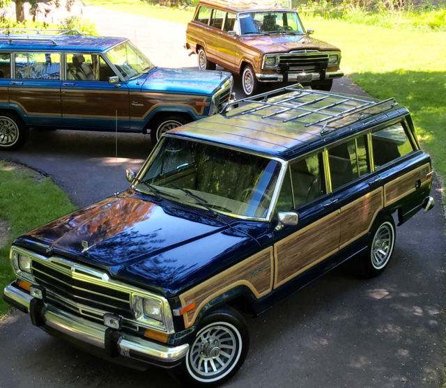 Used Jeeps For Sale In Ny: Grand Wagoneer By Classic Gentleman Dark Baltic Blue