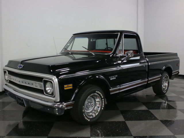 GREAT LOOKING C-10 CUSTOM CAB! 350 BORED TO 355, GREAT ...