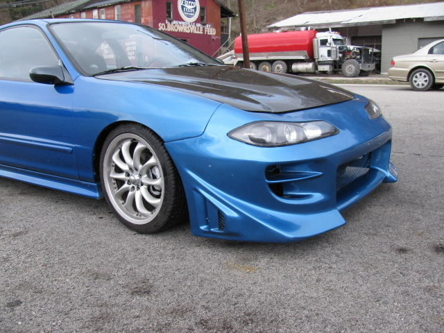 GSR INTEGRA WITH A JDM BC MOTOR AND SLYVIA CONVERSION BODY KIT - Body kits for acura integra