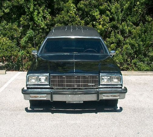 Buick Vehicles List: HEARSE 1987 Buick LeSabre Estate Wagon Hearse