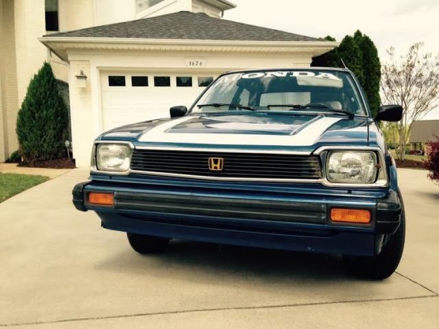 Honda civic 1980 1500gl antique vintage car made in japan for Where are honda civics made