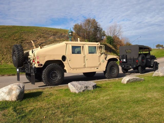 Military Vehicles For Sale Canada >> Humvee Hmmwv Hummer H1 M1045 ARMOR 6.5 Turbo
