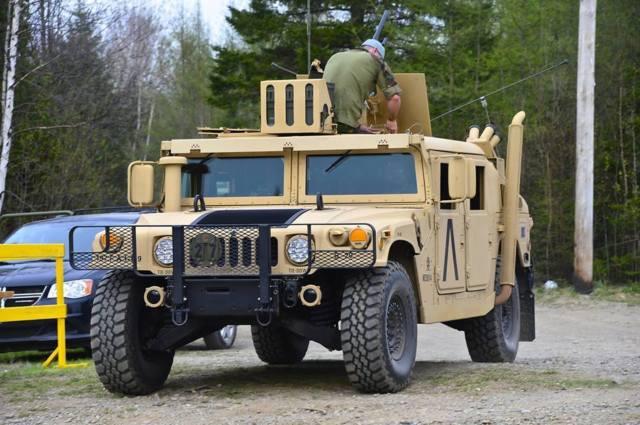 Armored Car For Sale >> Humvee Hummer H1 SLANTBACK M1045 6.5 Turbo 4 speeds ARMOR ...