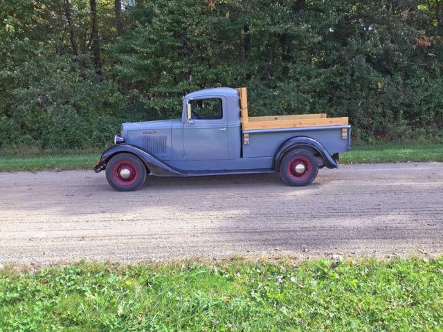 ih international 1935 c1 c 1 half ton pickup truck. Black Bedroom Furniture Sets. Home Design Ideas