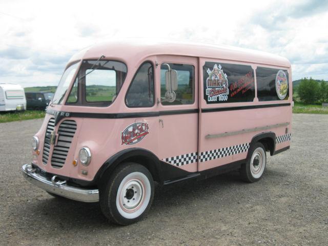 International Harvester Metro Ice Cream Van