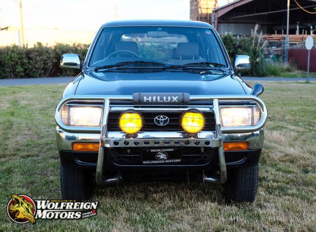 jdm 1992 toyota hilux surf ssr 4wd 2l te turbo diesel 5 speed manual rhd rh classicvehicleslist com 1994 Toyota RAV4 1994 Toyota 4Runner