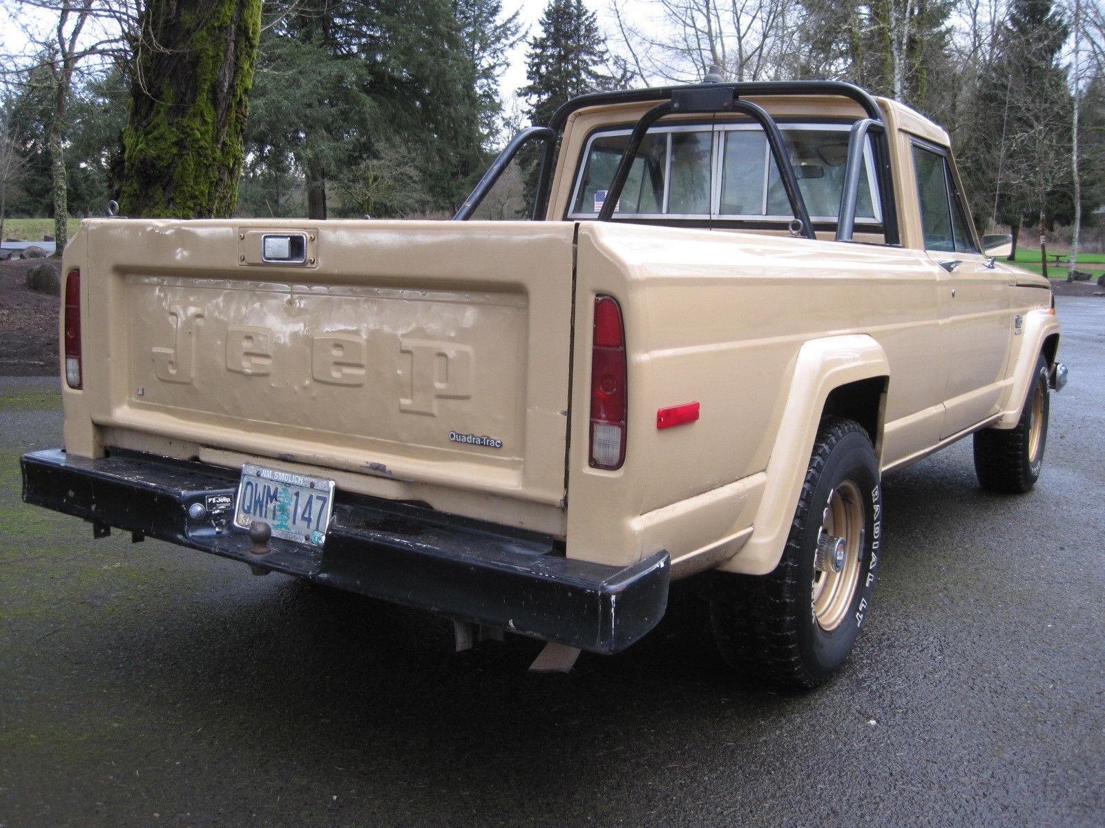 jeep 1978 j10 j10 golden eagle 401 shortbed 4x4 rust free