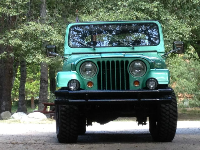 Jeep CJ Body M38A1 Willy's Overland 1952 Fully Restored