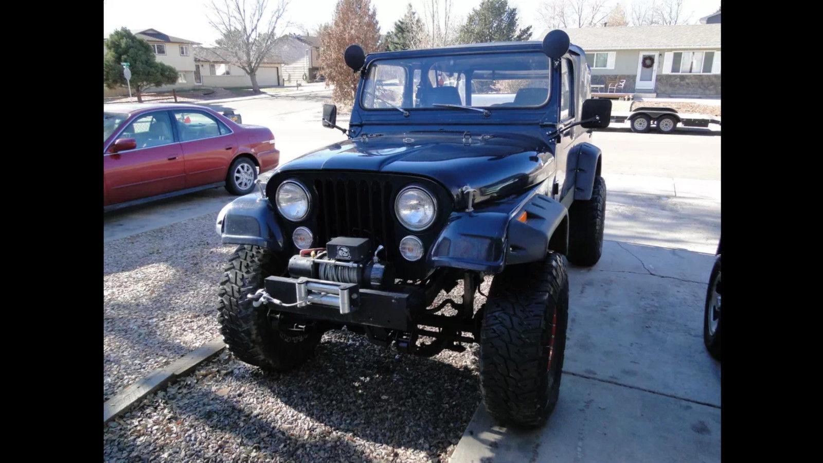 jeep scrambler cj8 arb dana 44 v8 rock crawler custom