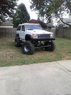 Jeep Xj Cherokee Lifted Boggers 1 Ton Axles 100 Rust Free