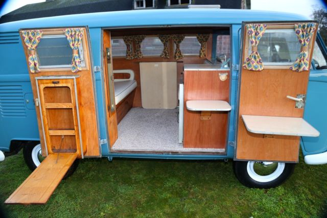 Kombi samba sundial so42 riviera westfalia split window campmobile vw camper rv