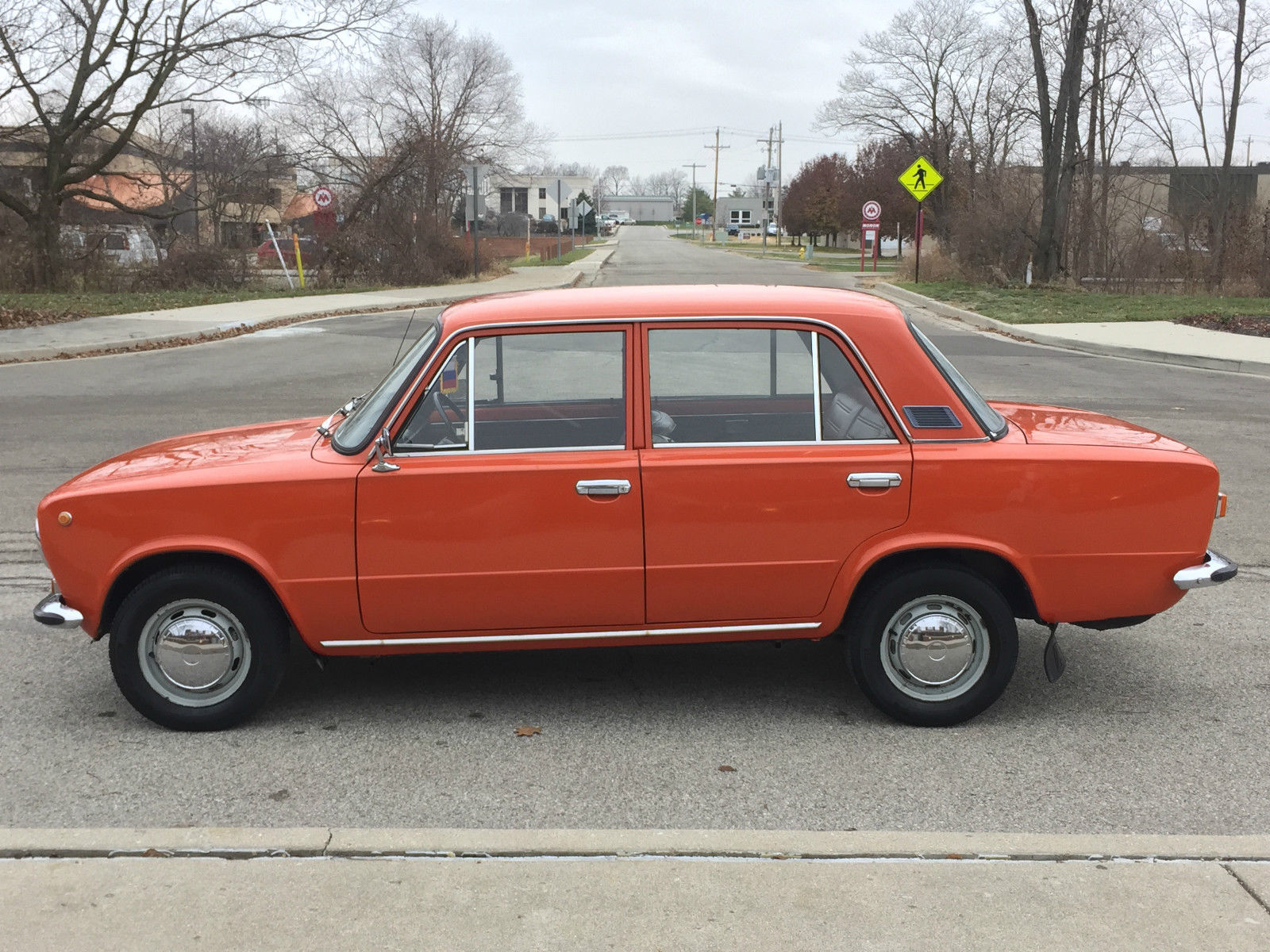 lada vaz 2101 russian soviet car in indiana very rare. Black Bedroom Furniture Sets. Home Design Ideas