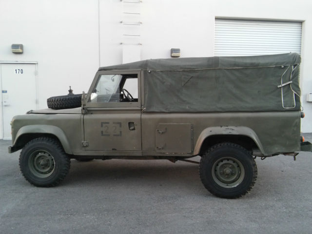 Land Rover Defender 110 2 5d Lwb 4 Seater 1985 Ex Uk Army