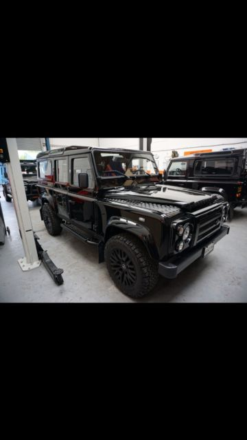Land Rover Defender For Sale Texas >> Land Rover Defender 110 Left Hand Drive Black on Black in Texas