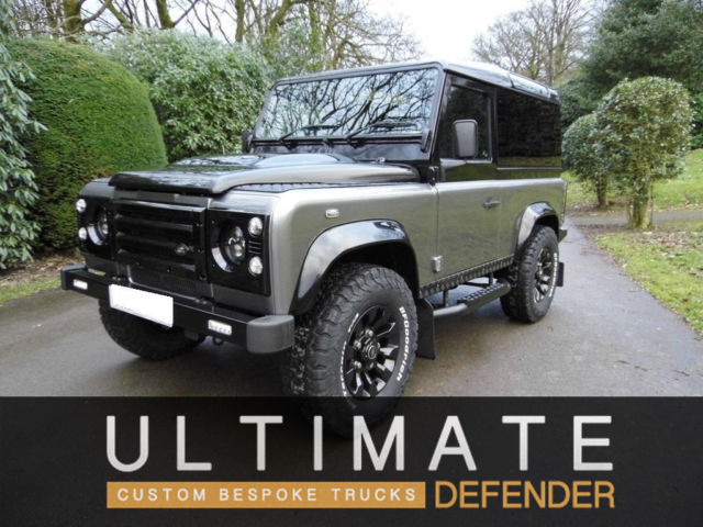 Land Rover Defender 90 Custom Build Shipping To Usa Included
