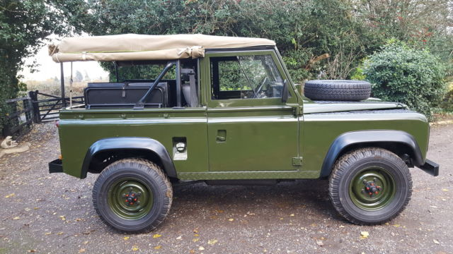 Land Rover Defender 90 Soft Top 1986 Ex Mod Military