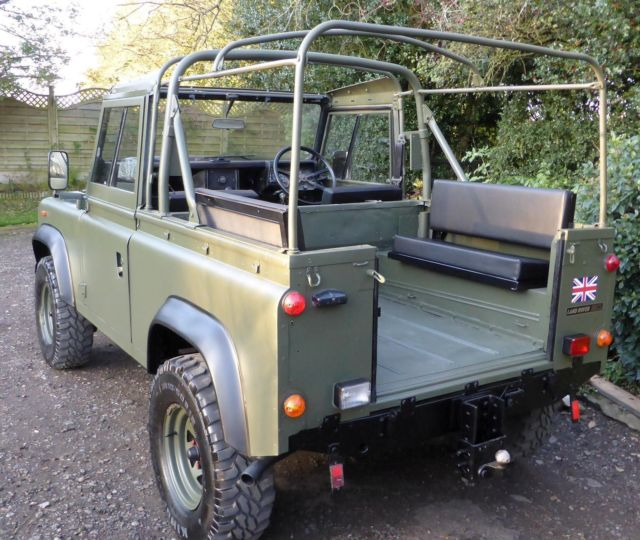 Used Land Rovers For Sale >> Land Rover Defender 90 Soft Top 1991 Ex Mod Military