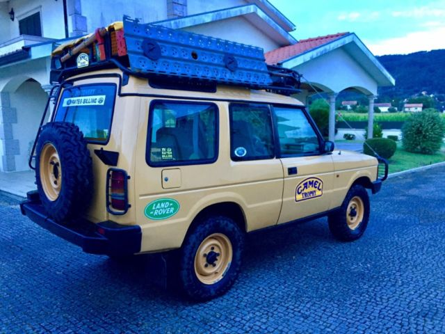 land rover discovery camel trophy 200tdi