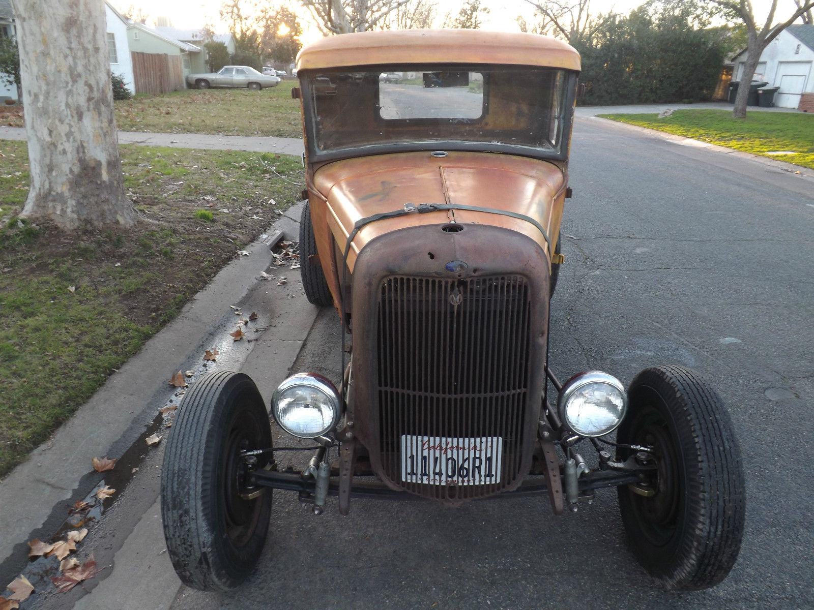 Late 1931 Pick Uptruck Sbc V8 Hot Rat Rod Custom Daily Driver No 1955 Ford F100 Wide Bed Reserve
