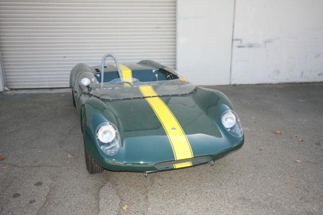 lotus 23b race car fresh restoration ready for track or moueum. Black Bedroom Furniture Sets. Home Design Ideas
