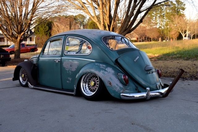 lowered  volkswagen beetle vw bug aircooled slammed