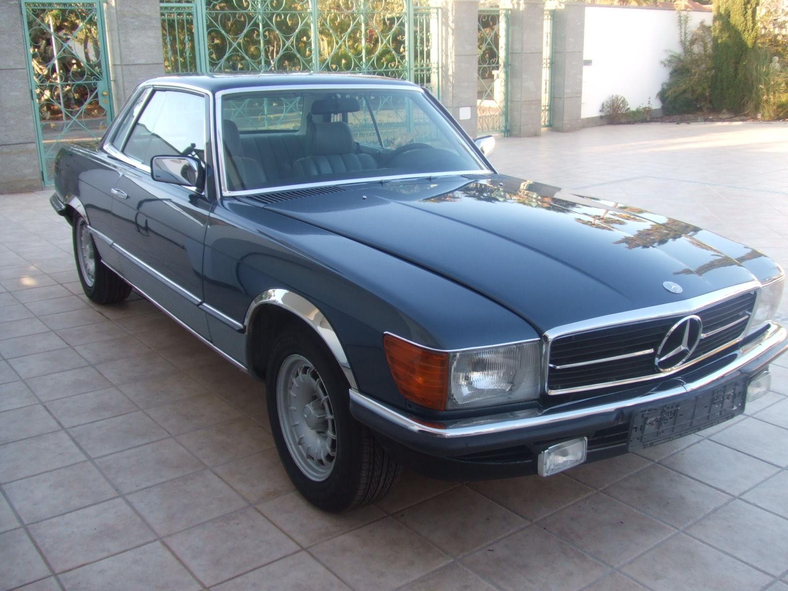 Mercedes 500 Slc 1980 Only 1000 Cars Built Topas Blue