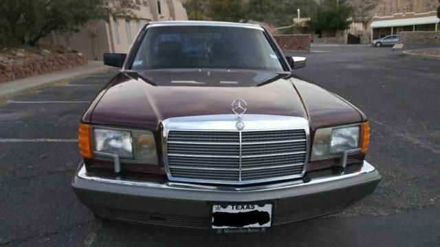 Mercedes benz 300sel for Mercedes benz for sale el paso