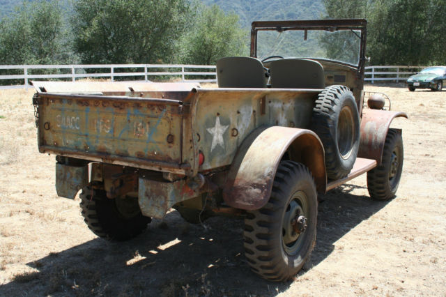 Military Vehicle 1941 Dodge WC-4 Half Ton Weapons Carrier Truck