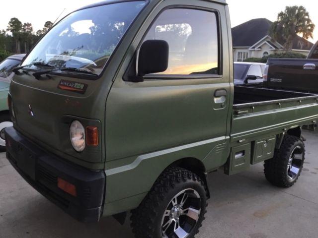 Mitsubishi Minicab Japanese Mini Truck 4x4 4wd Atv Utv 2