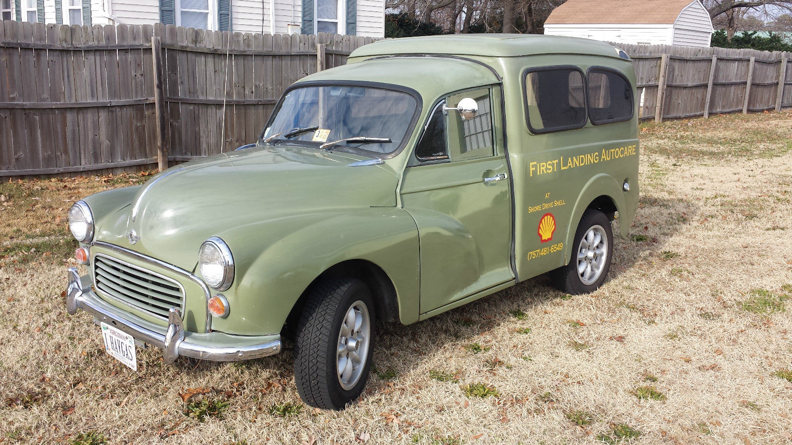 Morris Minor Window Van