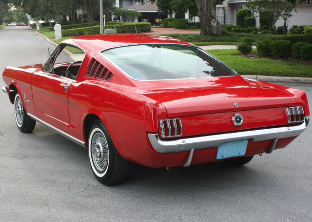 most desired body style 1965 ford mustang fastback 78k miles. Black Bedroom Furniture Sets. Home Design Ideas