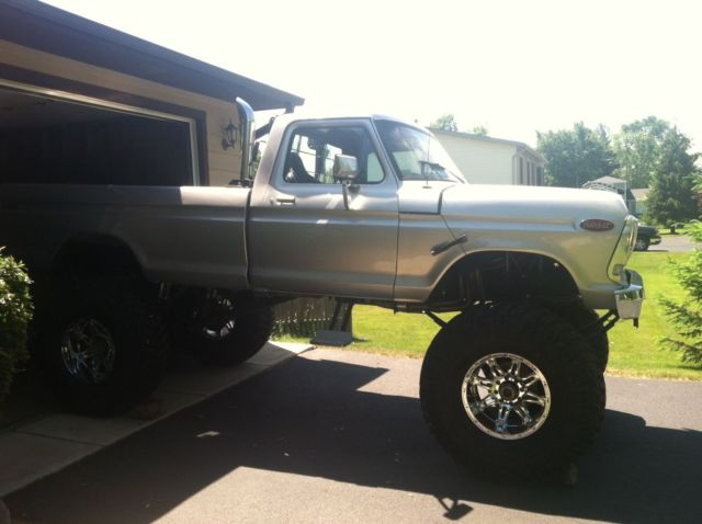 Ford F Monster Truck Brand New Parts  Lift
