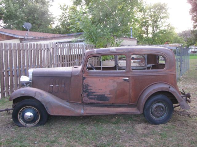 Nice 1933 chevy 2 door nice patina rat rod hot rod for 1933 chevrolet 2 door sedan