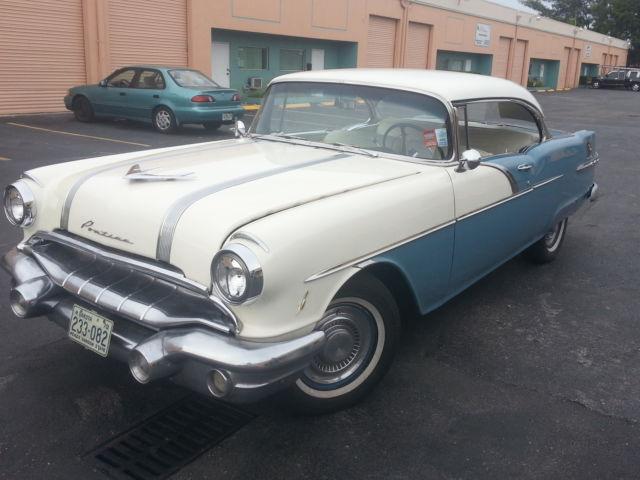 nice 1956 56 pontiac starchief 2 door hardtop