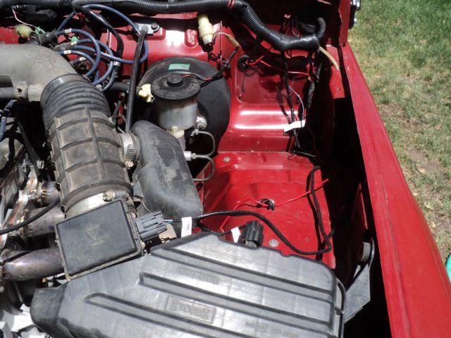No Res Nice 1986 Suzuki Samurai Fuel Injected 1 6l 16v Engine Warn