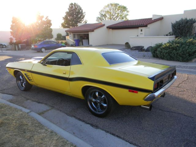 No Reserve 1972 Dodge Challenger Rally 440 4speed Charger 7071