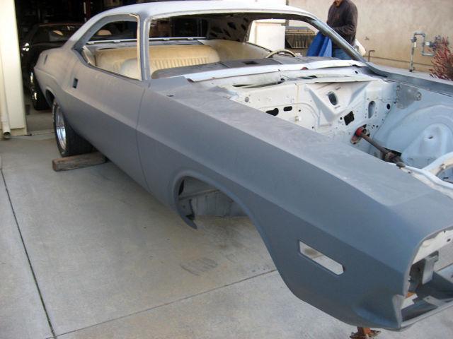 no reserve 1972 dodge challenger restomod project car. Black Bedroom Furniture Sets. Home Design Ideas