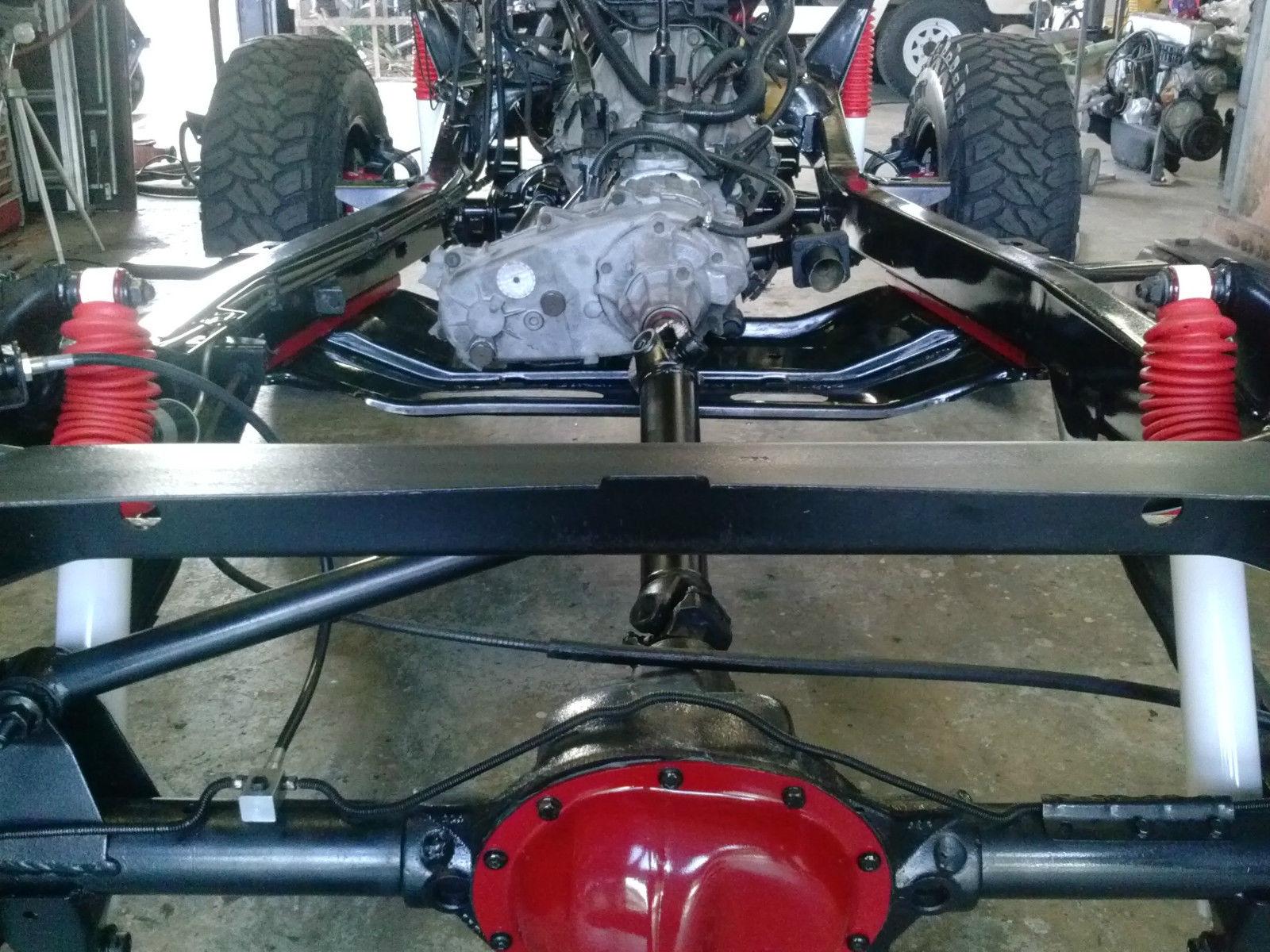 1993 JEEP Wrangler YJ Frame Off Restoration/Rebuild   Custom Body!