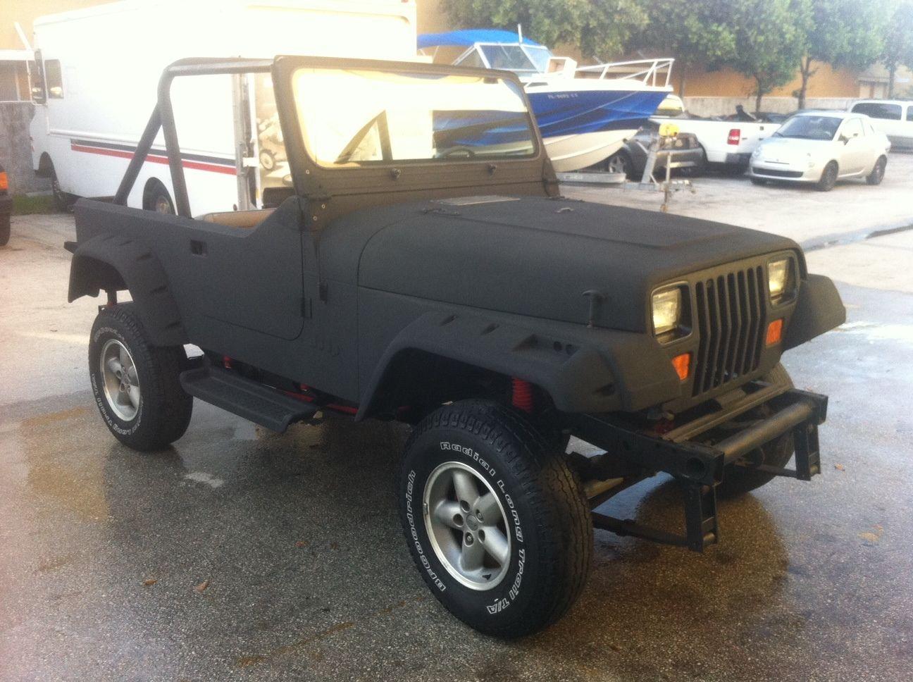 No Reserve 1993 Jeep Wrangler Yj Frame Off Restoration Rebuild Cj Wiring Custom Body