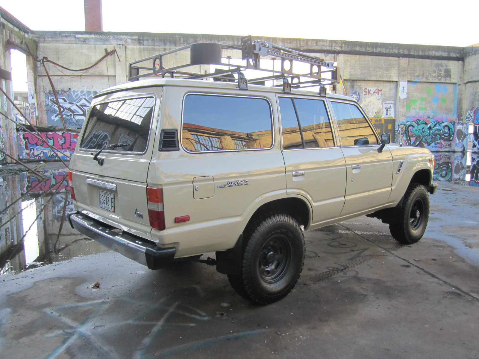 No Reserve Very Low Mileage Rust Clean Carfax Landcruiser Toyota Land Cruiser Fj60