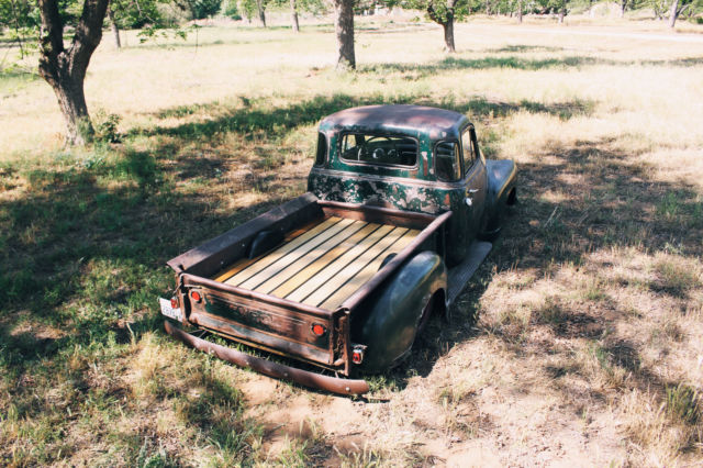 old school restomod chevy hot rat street rod air ride bagged patina apache 3100. Black Bedroom Furniture Sets. Home Design Ideas