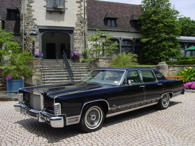 One Owner 1979 Lincoln Town Car Garaged Since New Original