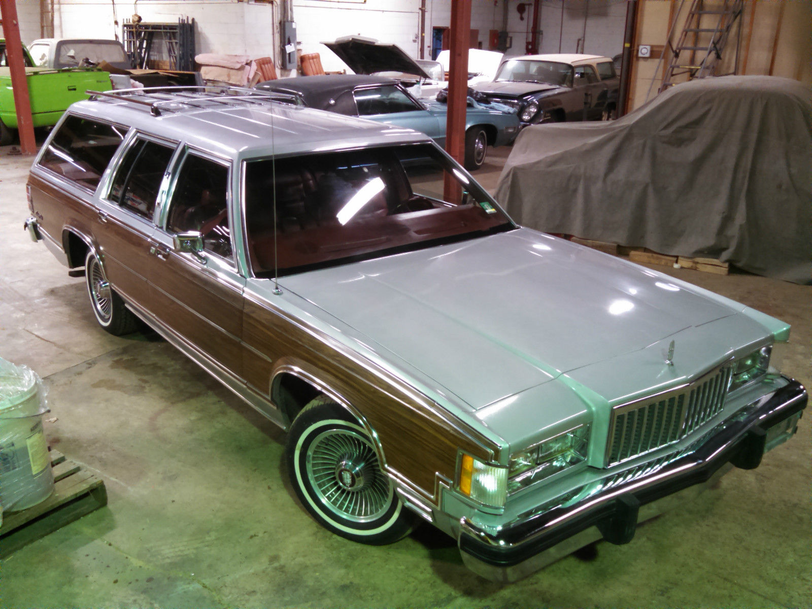 How To Clean Inside Car Windows >> Only 54k 1985 Mercury Colony Park wagon country squire ltd roadmaster