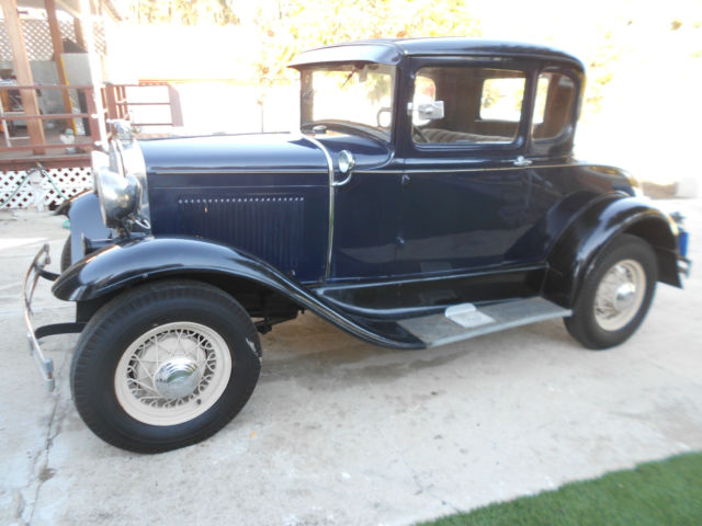 Original 1930 ford model a 2 door coupe with rumble seat for 1930 ford model a two door sedan