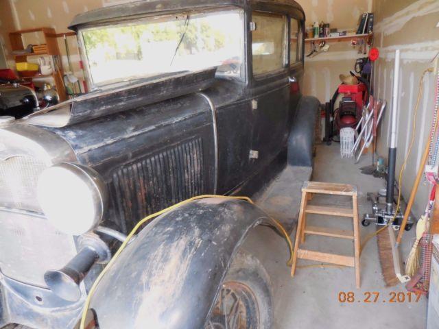 Original 1931 Model A Ford 2 Door Sedan Super Solid Barn